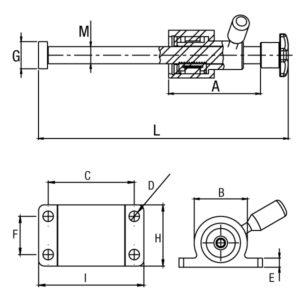 Grampo Fusos Rápido Modelo Modelo GP-1FRL12 GP-1FRL16