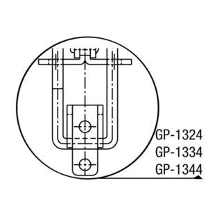 Grampo Tensor Modelo GP-1324 GP-1334 GP-1344 GP-1374