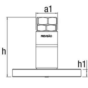 Calço Regulador Extra Pesado Modelos PMC |  PMP