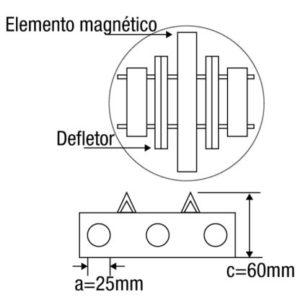 Grade Magnética Redonda
