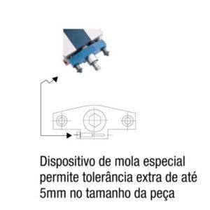 Morsa Dupla de Precisão CNC Modelo PHDL