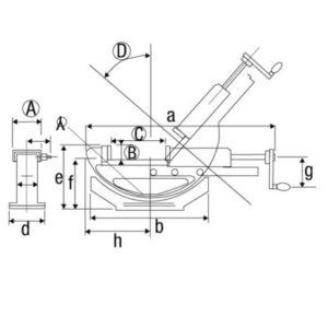 Morsa Hidráulica Angular Modelo PHW