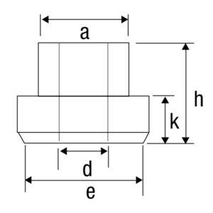 Porca T Modelo PT / PTM